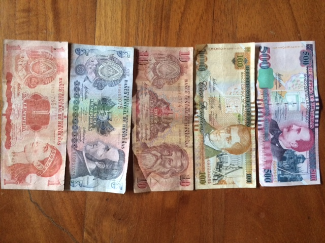 Local currency and banking in Honduras