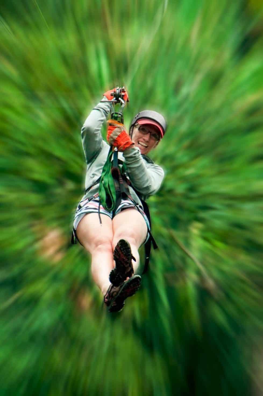 zip line canopy tours in La Ceiba