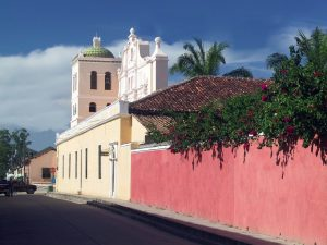 Colonial streets in Comayagua. Photo John Dupuis