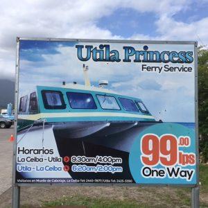 Utila Ferry Service