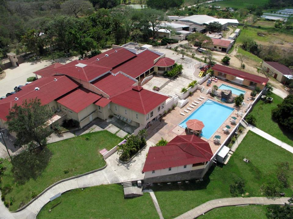 Aerial View Of The Comayagua Golf Club And Hotel Facilities