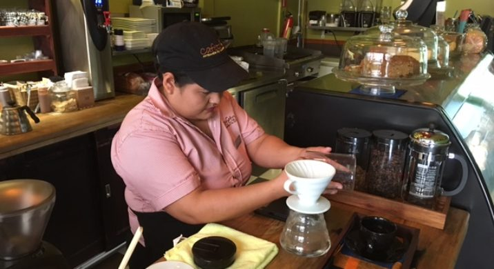 Chic coffee in Honduras