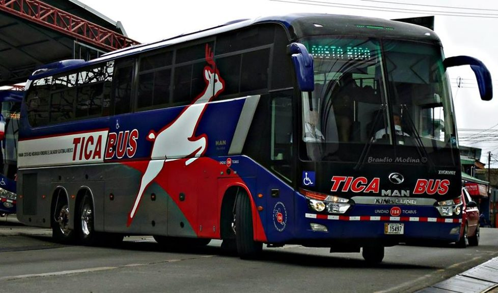 International bus routes from San Pedro Sula