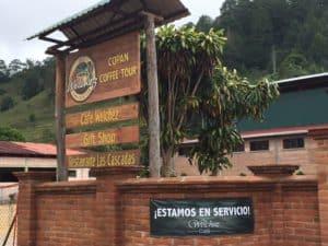 Honduras style highway road stop