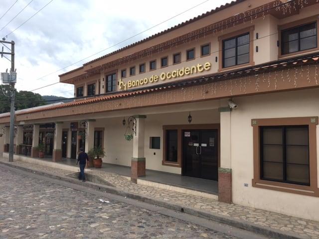 Copan Ruinas Banking Alternatives