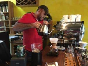 coffee shop in La Ceiba