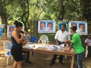 Honduras election day 2017